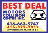 Best Deal MotorsCollision Centre Inc.