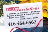 ESCO Invitations